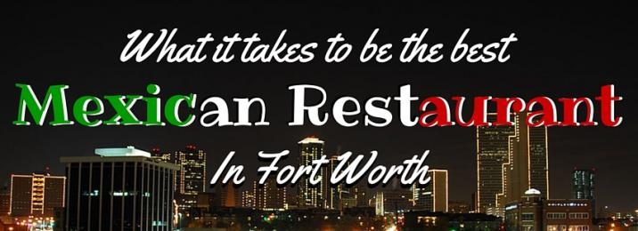 Benitos Mexican Restaurant, providing some of the best Mexican food in Fort Worth