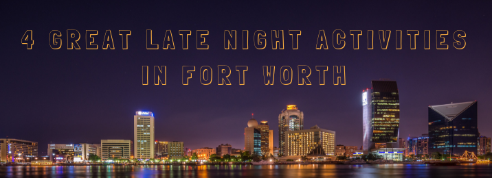 Photo of Fort Worth late night