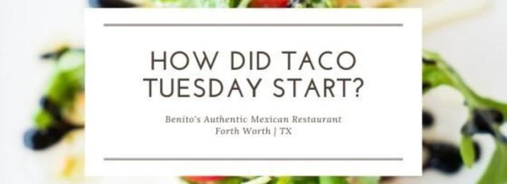 Taco Tuesday Forth Worth Texas